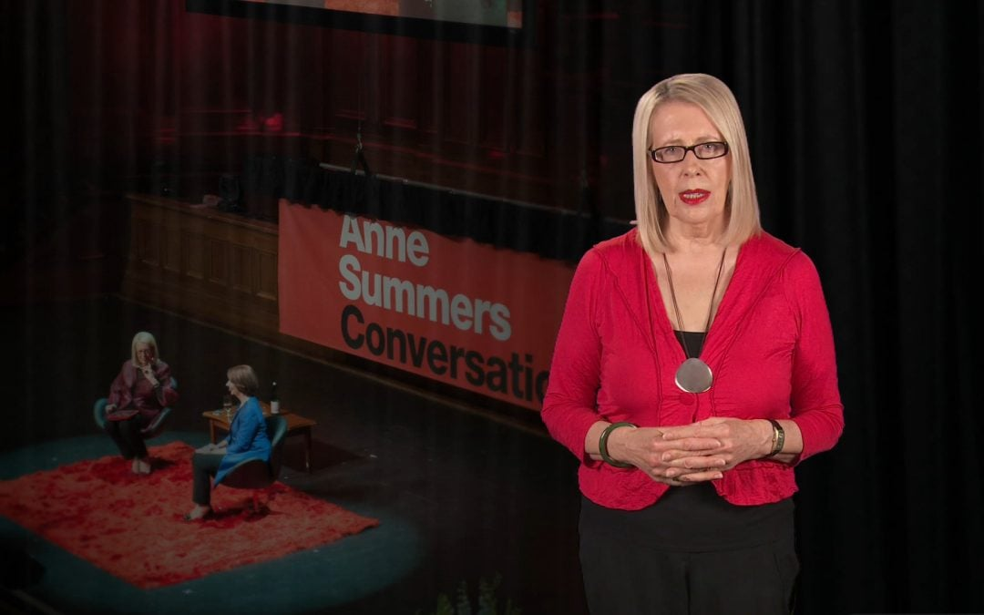 Anne Summers – Conversations with Julia Gillard