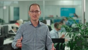 Still image from a corporate video production in Brisbane