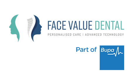 Face Value Dental - part of Bupa logo