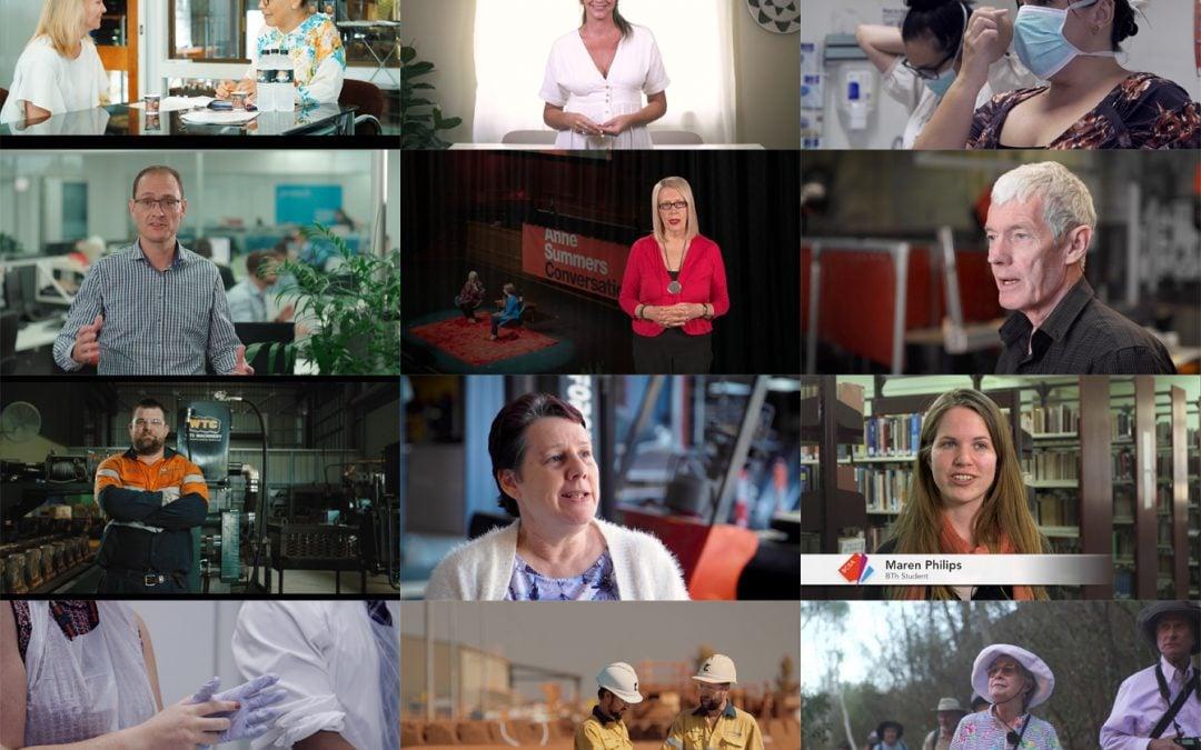 Footage of people in video in Brisbane