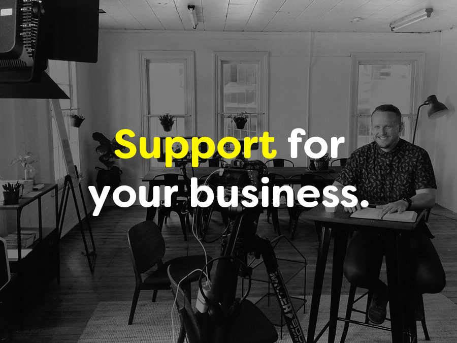 support for your business